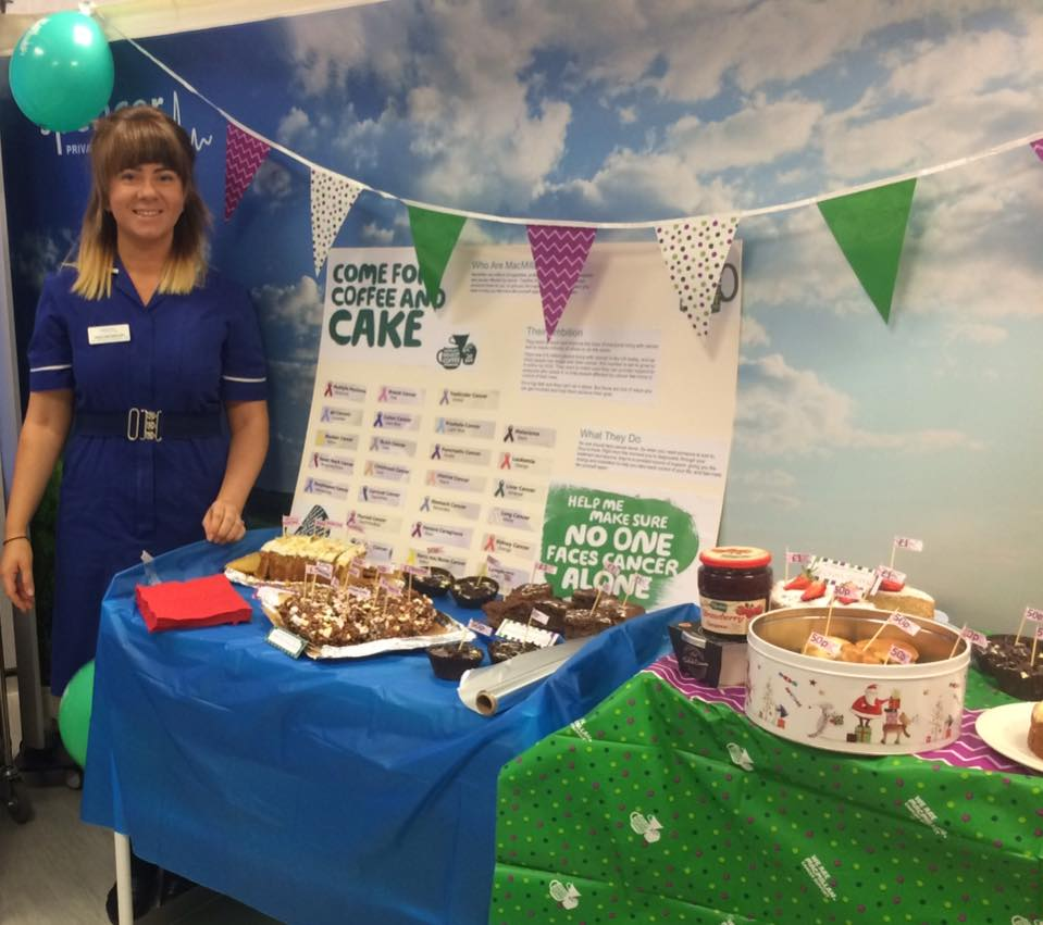 "Spencer Private Hospitals take part in ""World's Biggest Coffee Morning"" in aid of MacMillian"