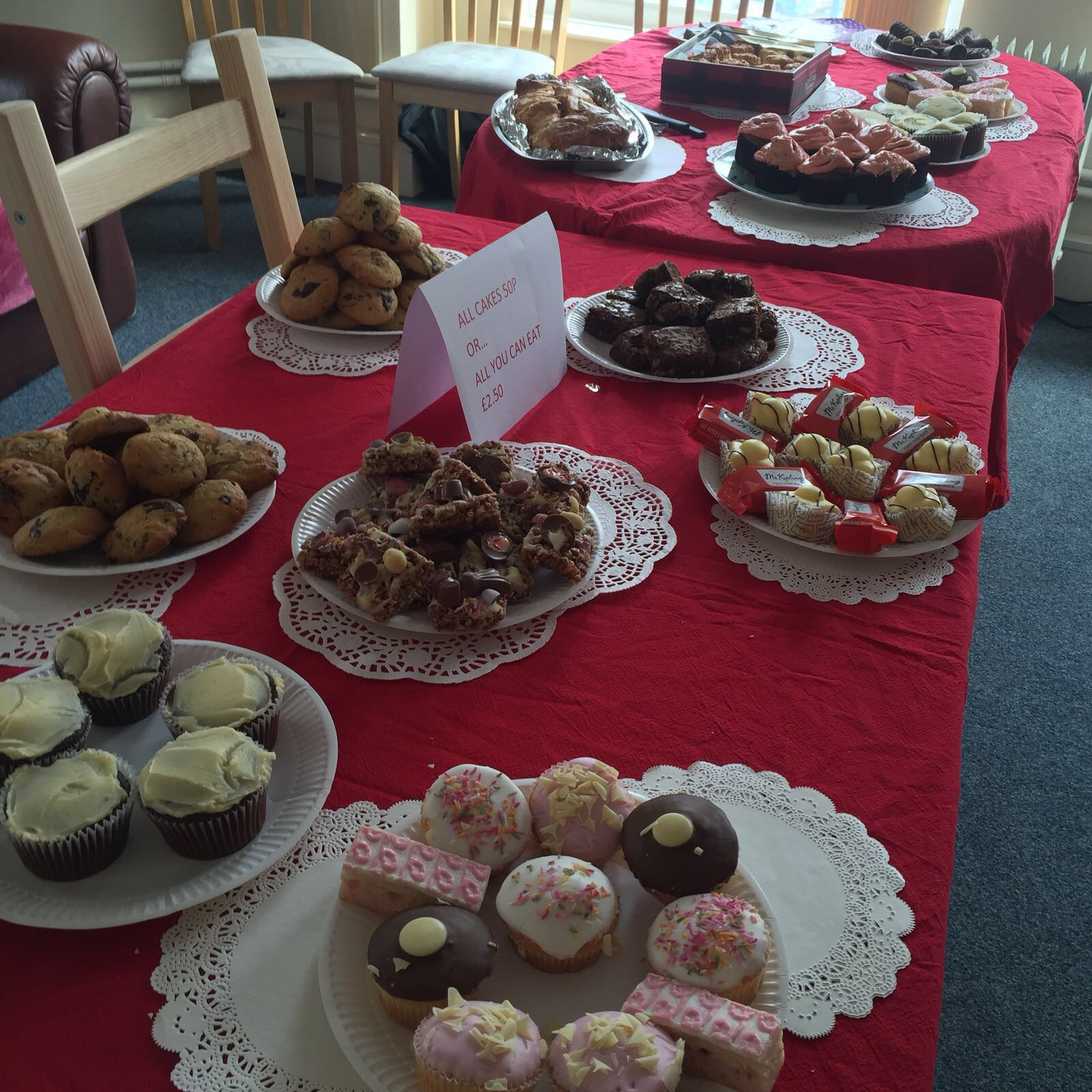 Spencer Private Hospitals bake for Comic Relief